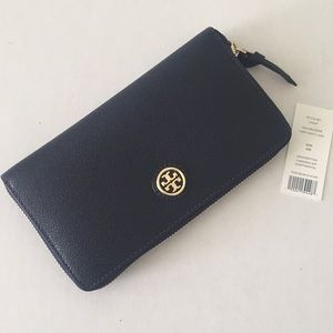 Tory Burch Cameron Zip Continental Wallet